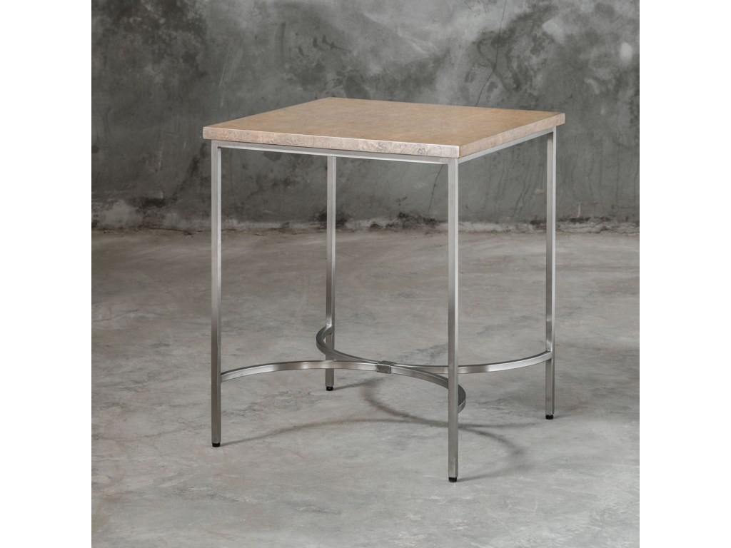 Uttermost Accent Furniture - Occasional TablesDrummond Modern Side Table