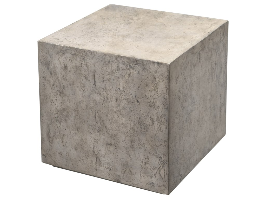 Uttermost Accent Furniture - Occasional TablesKioni Gray Cube Table