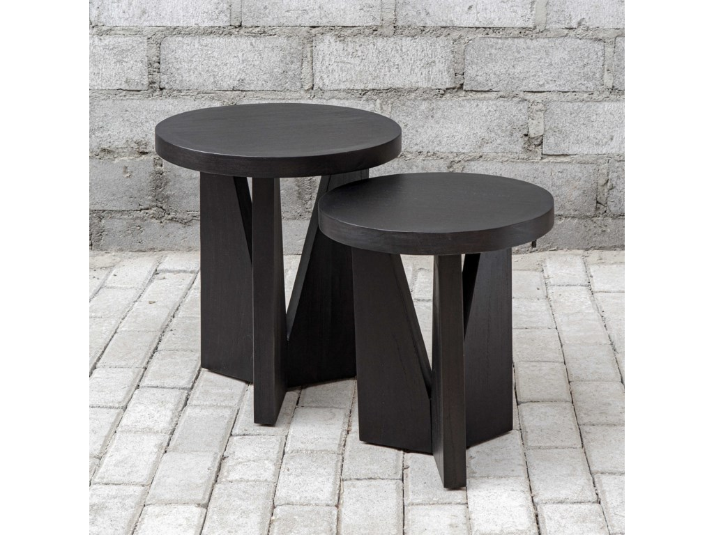 Uttermost Accent Furniture - Occasional TablesNadette Nesting Tables, S/2