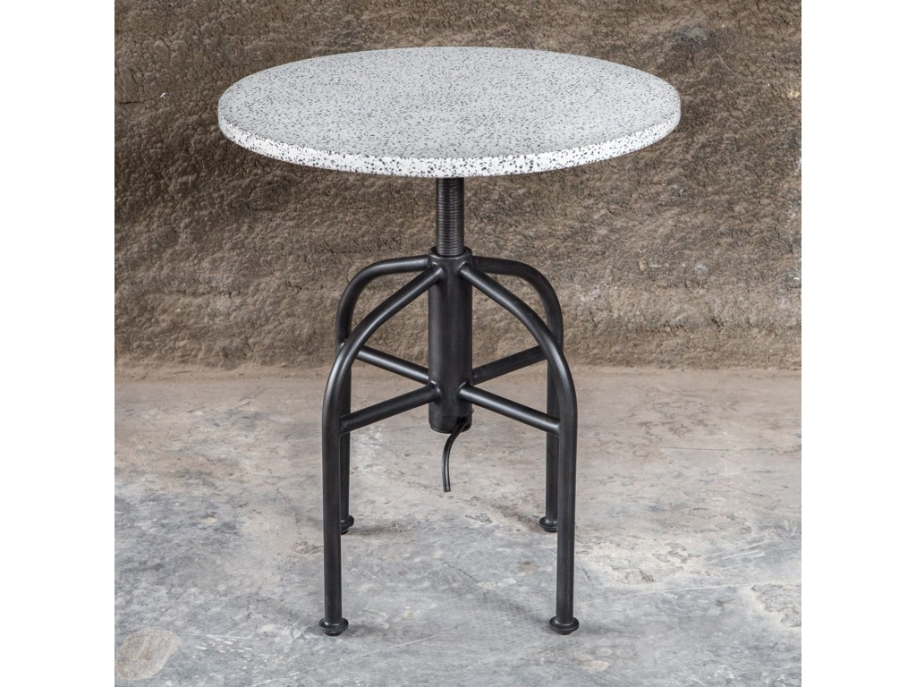 Uttermost Accent Furniture - Occasional TablesApsel Industrial Accent Table