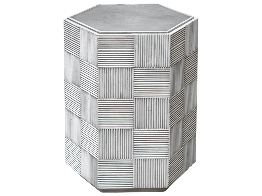 Uttermost Accent Furniture - Occasional TablesSilo Hexagonal Accent Table