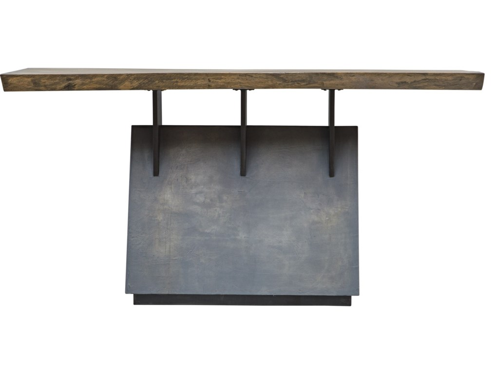 Uttermost Accent Furniture - Occasional TablesVessel Industrial Console Table
