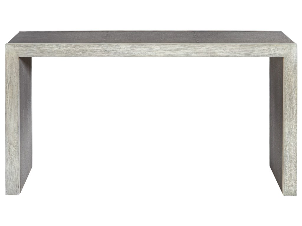 Uttermost Accent Furniture - Occasional TablesAerina Aged Gray Console Table