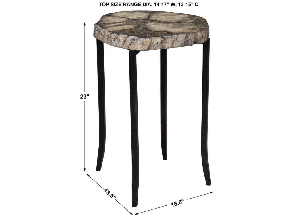 Uttermost Accent Furniture - Occasional TablesStiles Rustic Accent Table