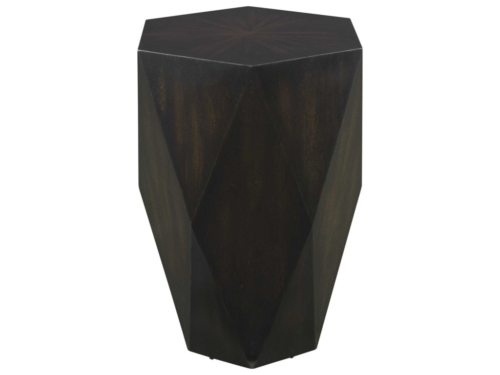 Uttermost Accent Furniture - Occasional TablesVolker Black Wooden Side Table