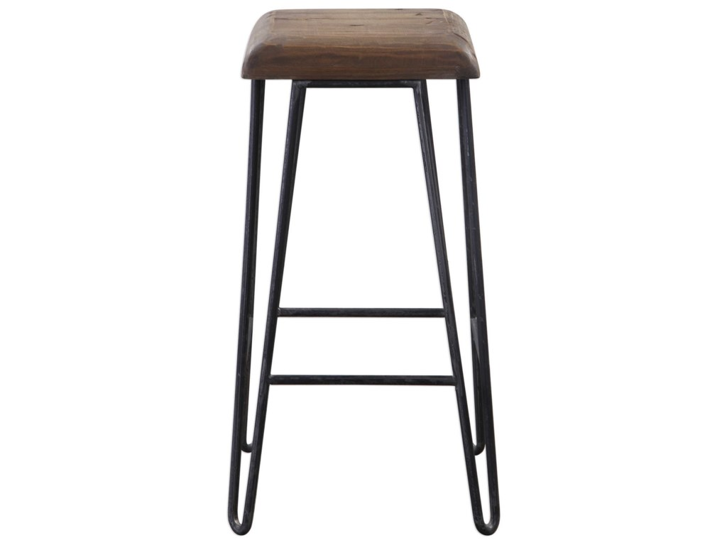 Uttermost Accent Furniture - StoolsAlbie Industrial Bar Stool