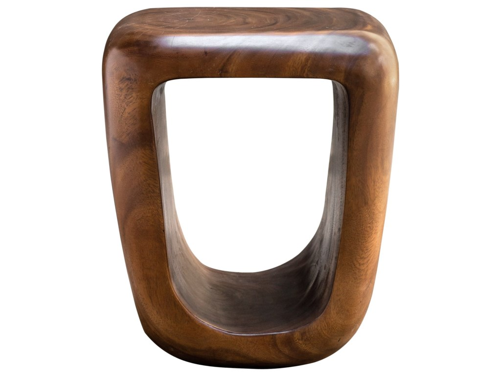 Uttermost Accent Furniture - StoolsLoophole Wooden Accent Stool