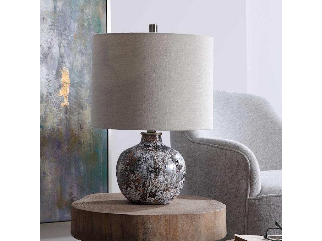 Uttermost Accent LampsLuanda Ceramic Accent Lamp