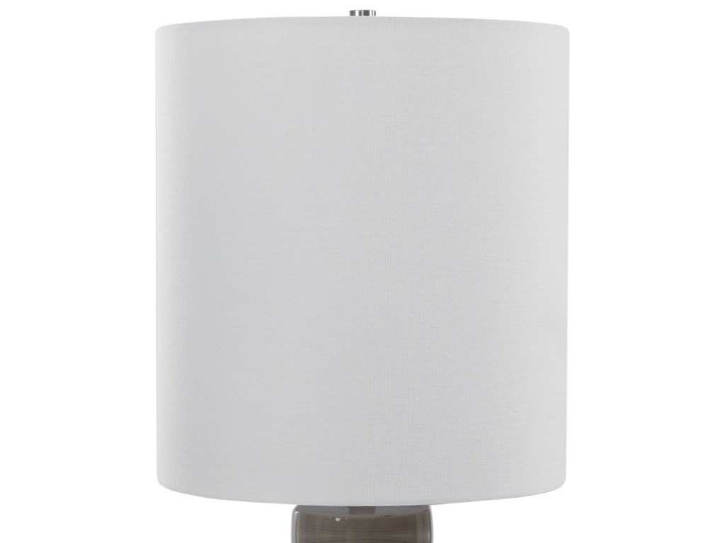 Uttermost Accent LampsOrwell Light Gray Accent Lamp