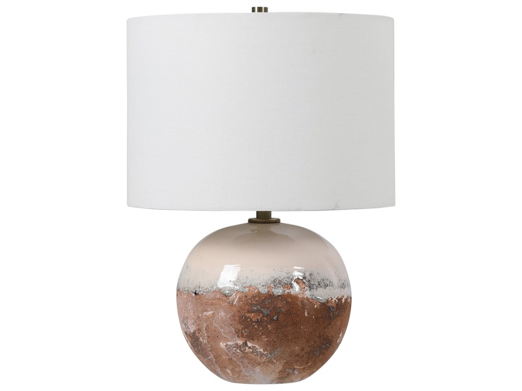 Uttermost Accent LampsDurango Terracotta Accent Lamp