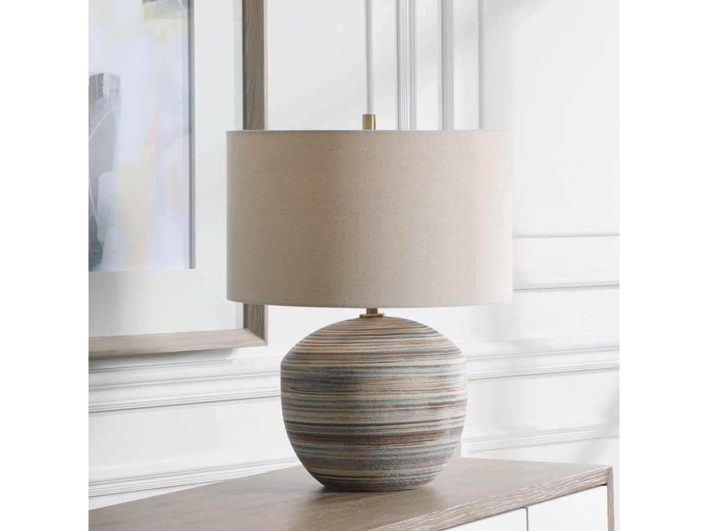 Uttermost Accent LampsProspect Striped Accent Lamp