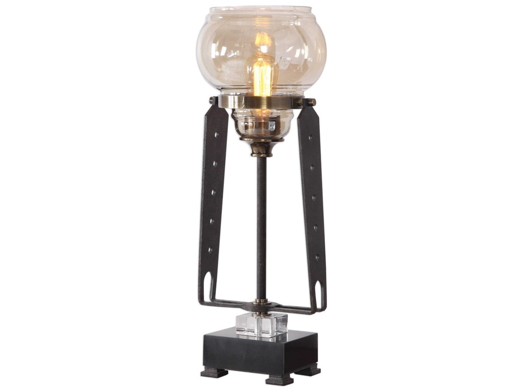 Uttermost Accent LampsIndustrial Accent Lamp