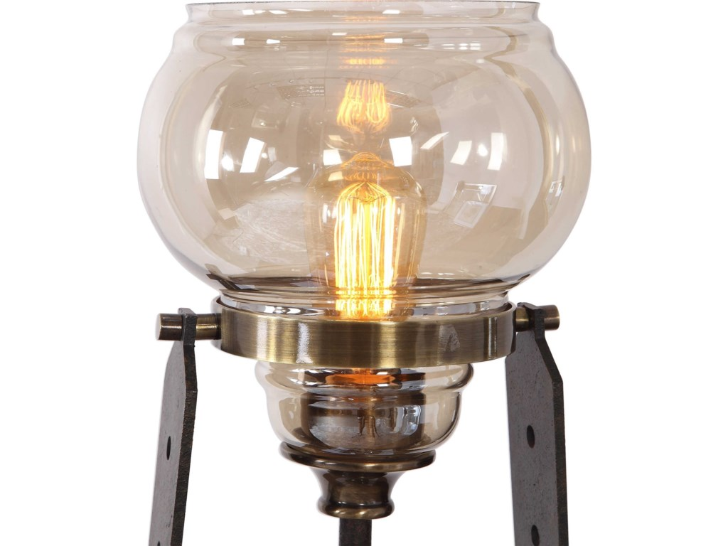 Uttermost Accent LampsIndustrial Accent Lamp