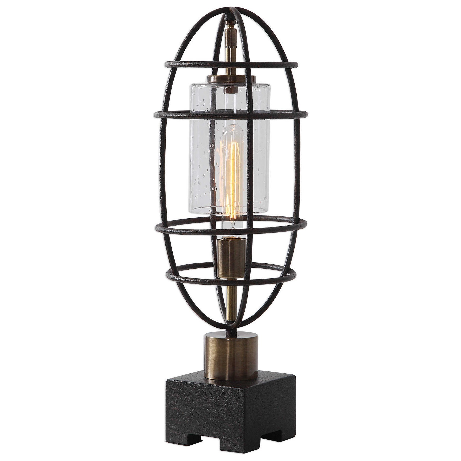 Industrial Accent Lamp