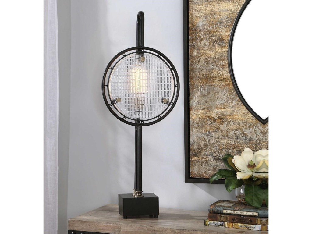 Uttermost Accent LampsArdell Industrial Accent Lamp