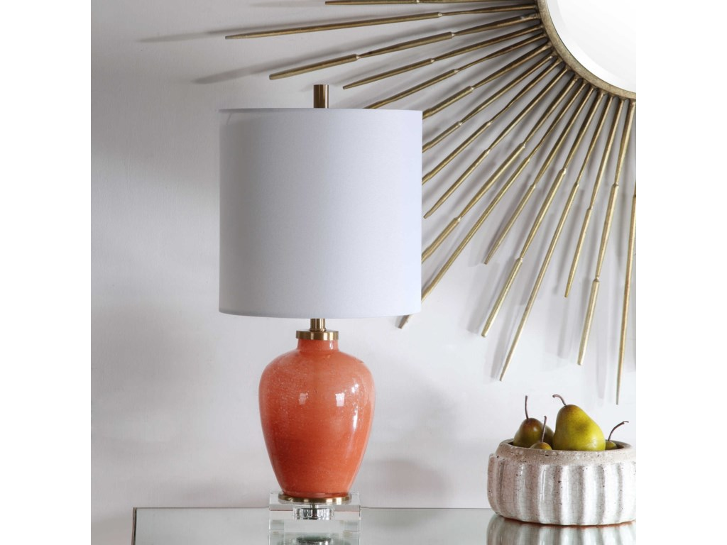 Uttermost Accent LampsDominica Coral Accent Lamp