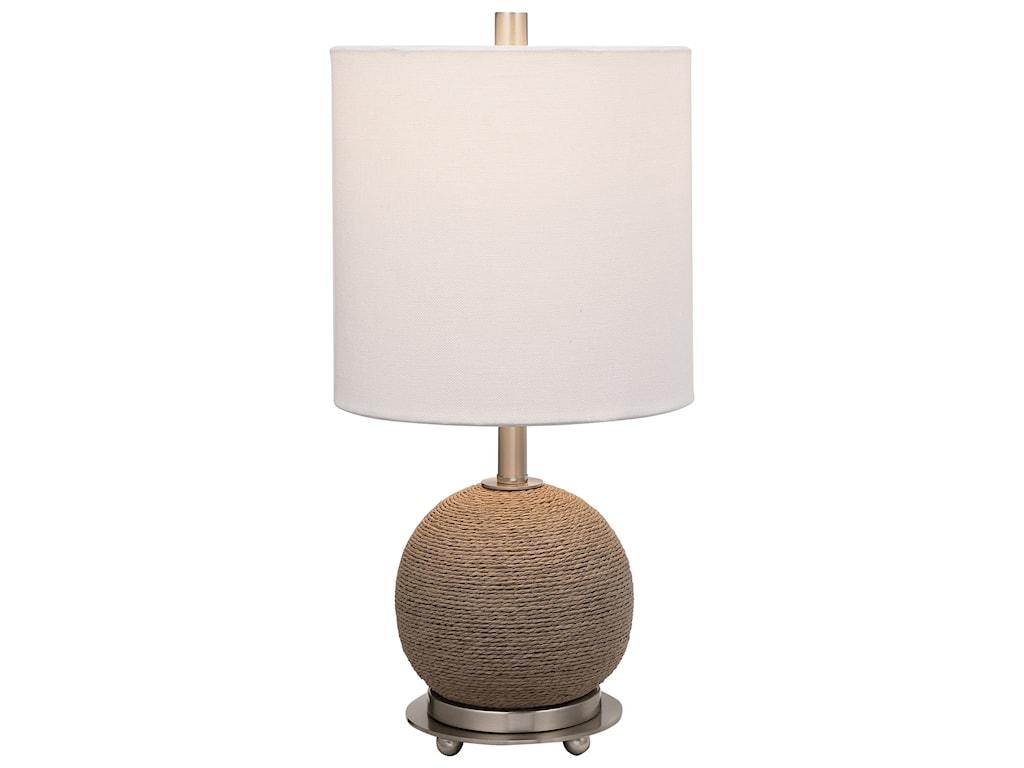 Uttermost Accent LampsCaptiva Rattan Accent Lamp