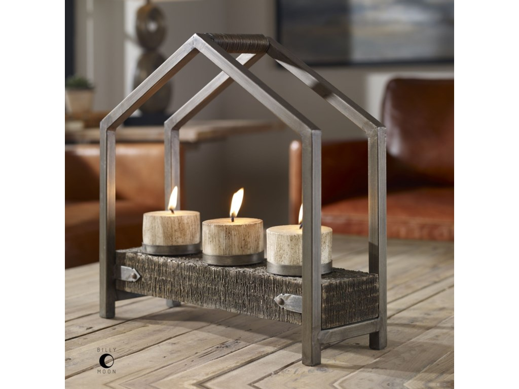 Uttermost AccessoriesEllie Antique Bronze Candleholder