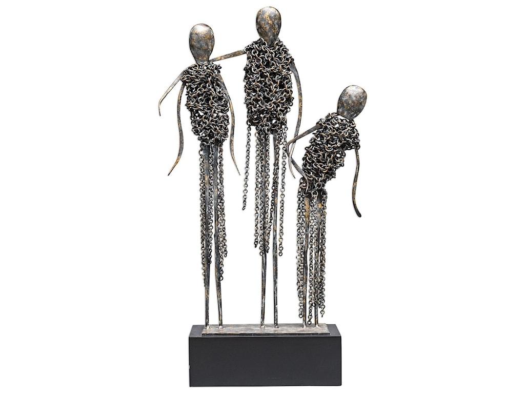 Uttermost AccessoriesAvi Antique Bronze Sculpture
