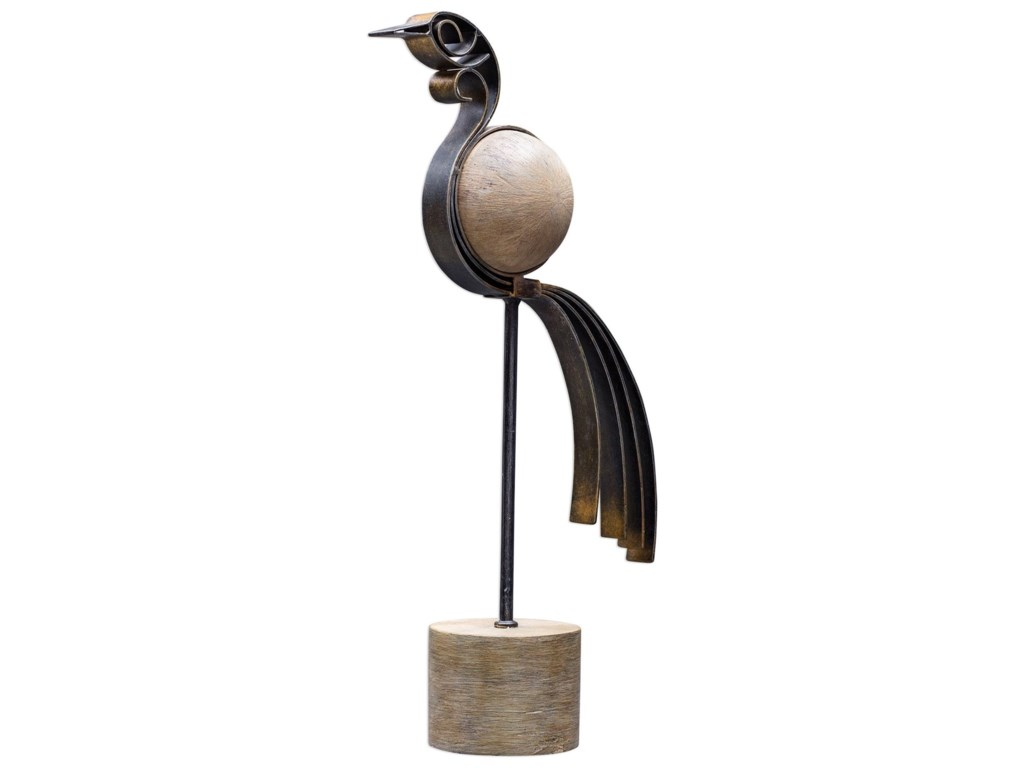 Uttermost AccessoriesAnvi Bird Sculptures, S/2