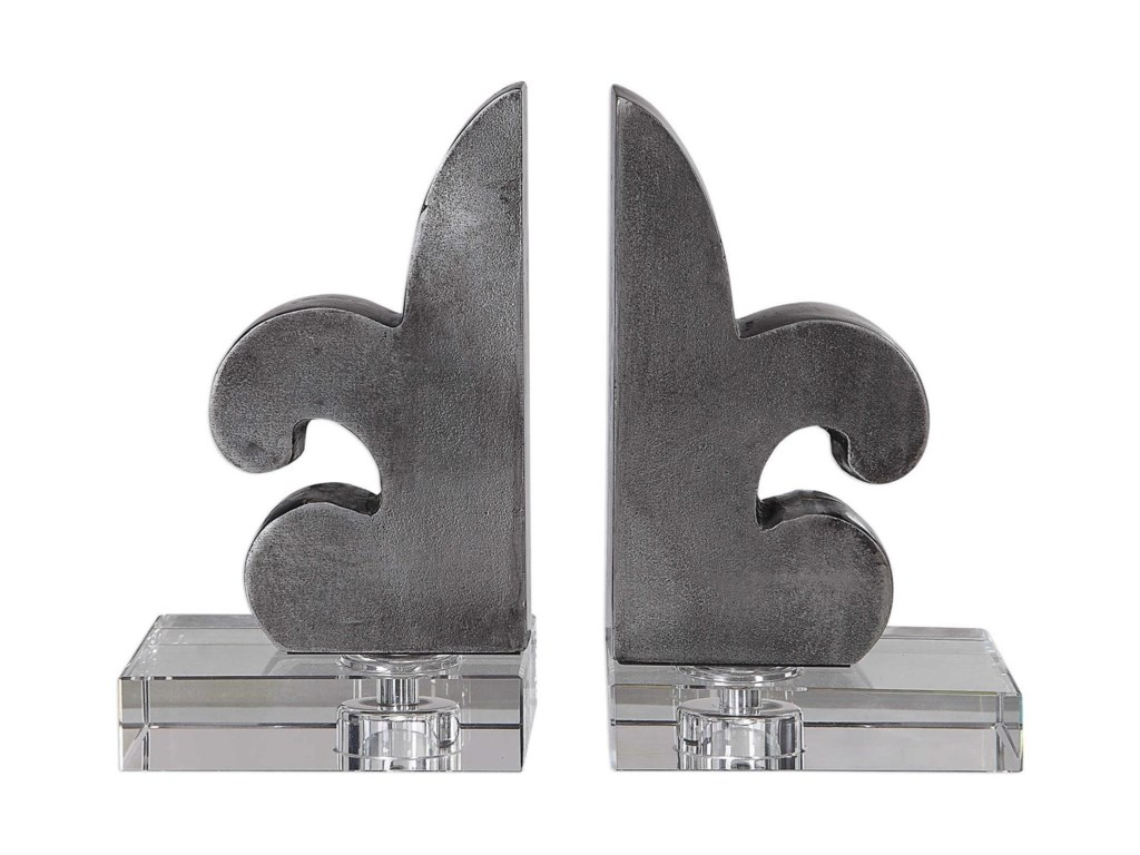 Uttermost AccessoriesLily Fleur-De-Lis Bookends Set/2