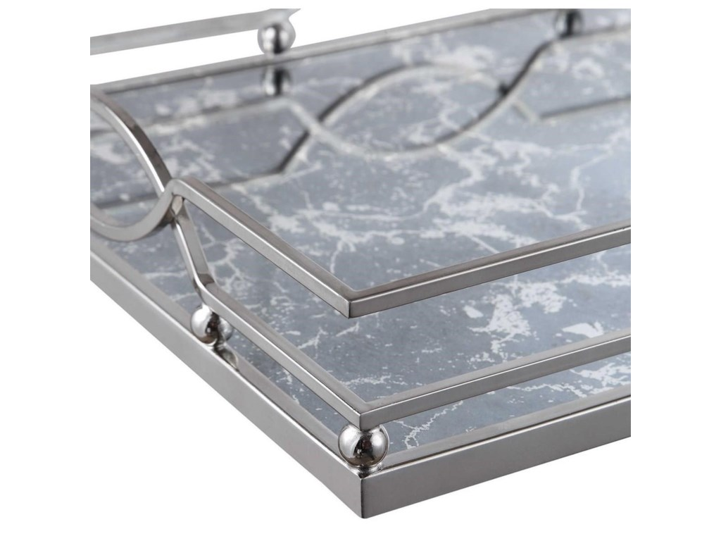 Uttermost AccessoriesEugenie Nickel Tray