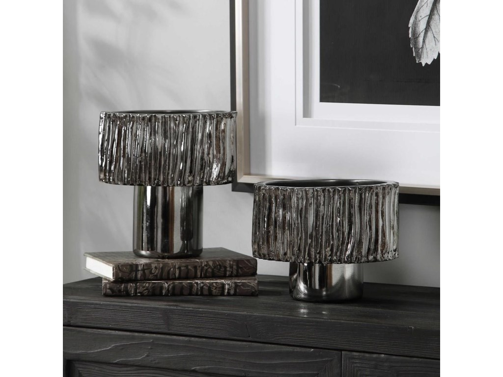 Uttermost AccessoriesZosia Nickel Bowls, Set/2