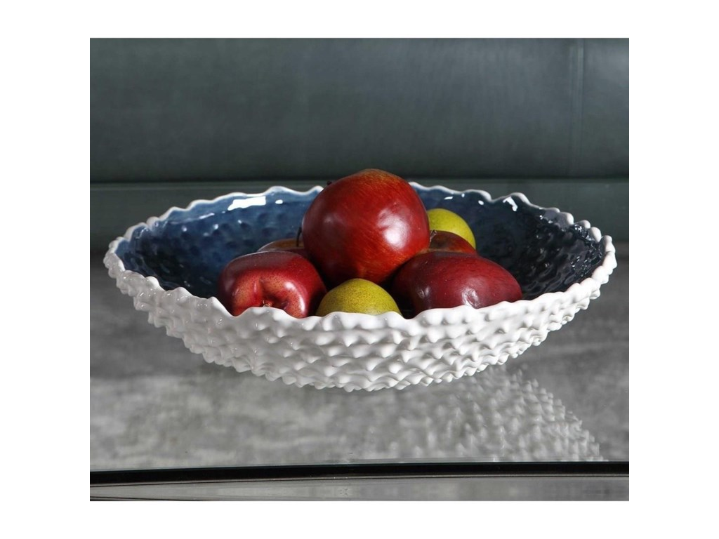 Uttermost AccessoriesCiji White Bowl