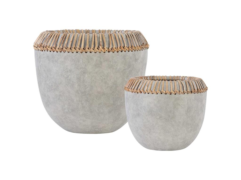 Uttermost AccessoriesAponi Concrete Ray Bowls, S/2