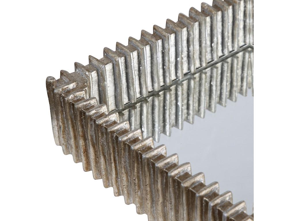 Uttermost AccessoriesTalmage Silver Mirrored Tray