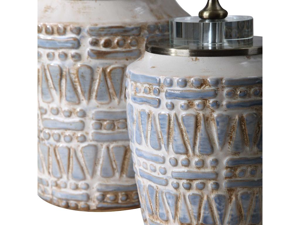 Uttermost AccessoriesLenape Ceramic Bottles, S/2
