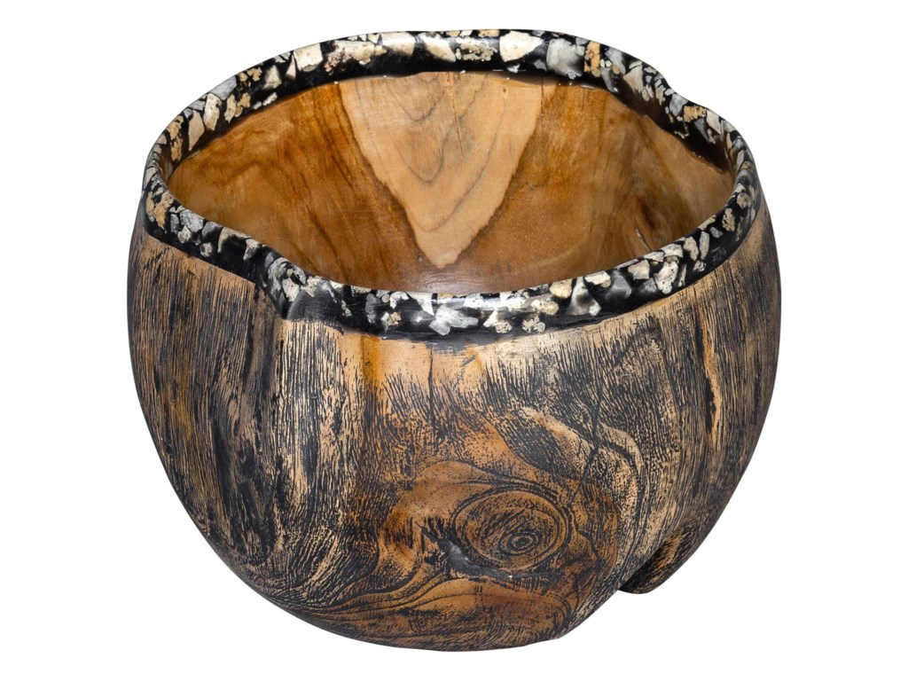Uttermost AccessoriesChikasha Wooden Bowl