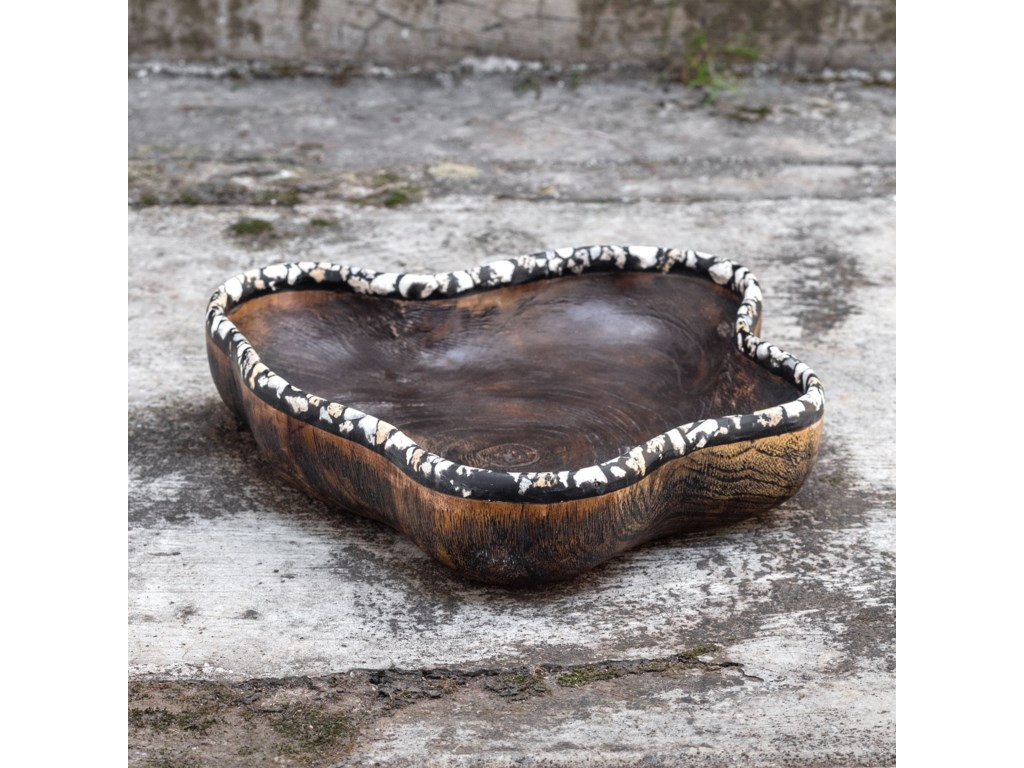 Uttermost AccessoriesChikasha Wooden Bowl - Large