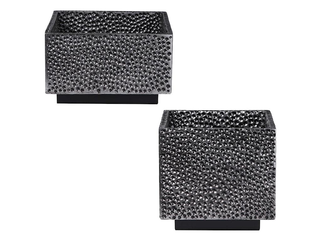 Uttermost AccessoriesBram Modern Square Bowls, S/2