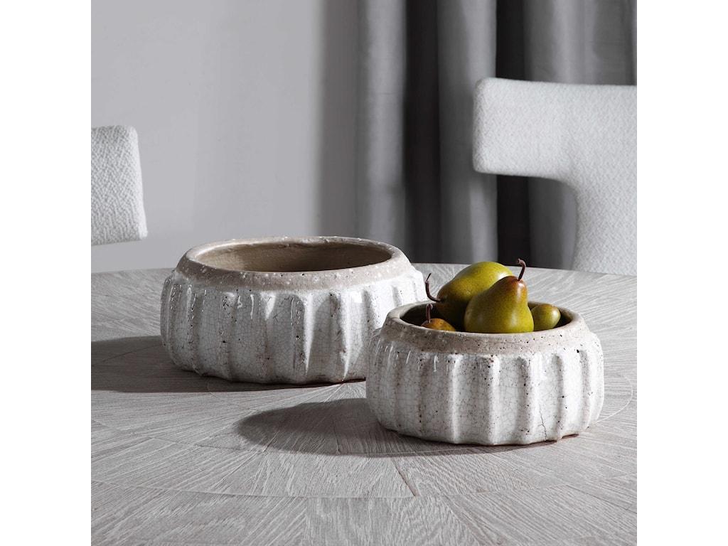 Uttermost AccessoriesAzariah Distressed Bowls, S/2