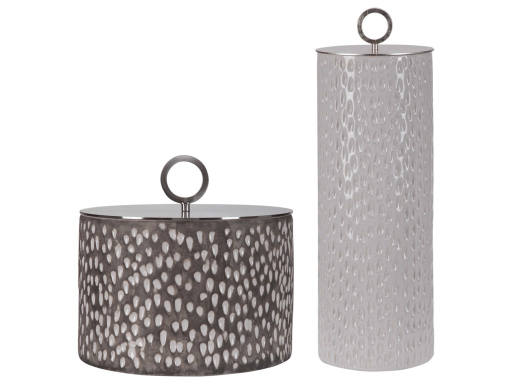Uttermost AccessoriesCyprien Ceramic Containers, S/2