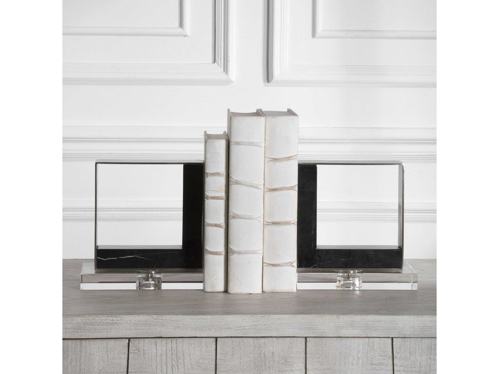 Uttermost AccessoriesModern Marble Bookends, S/2