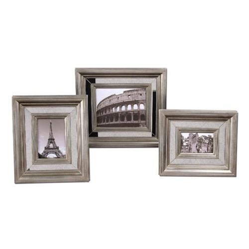 Uttermost Accessories Hasana Photo Frames Set of 3