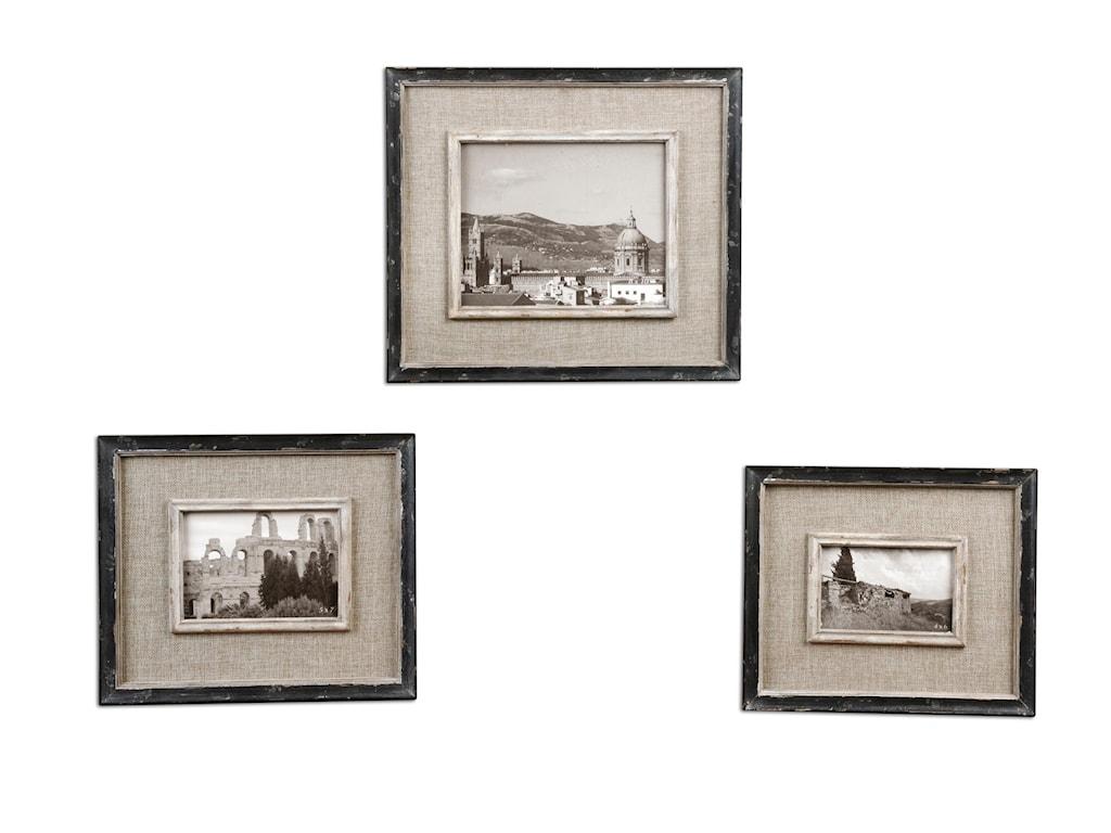 Uttermost AccessoriesKalidas Photo Frames Set of 3