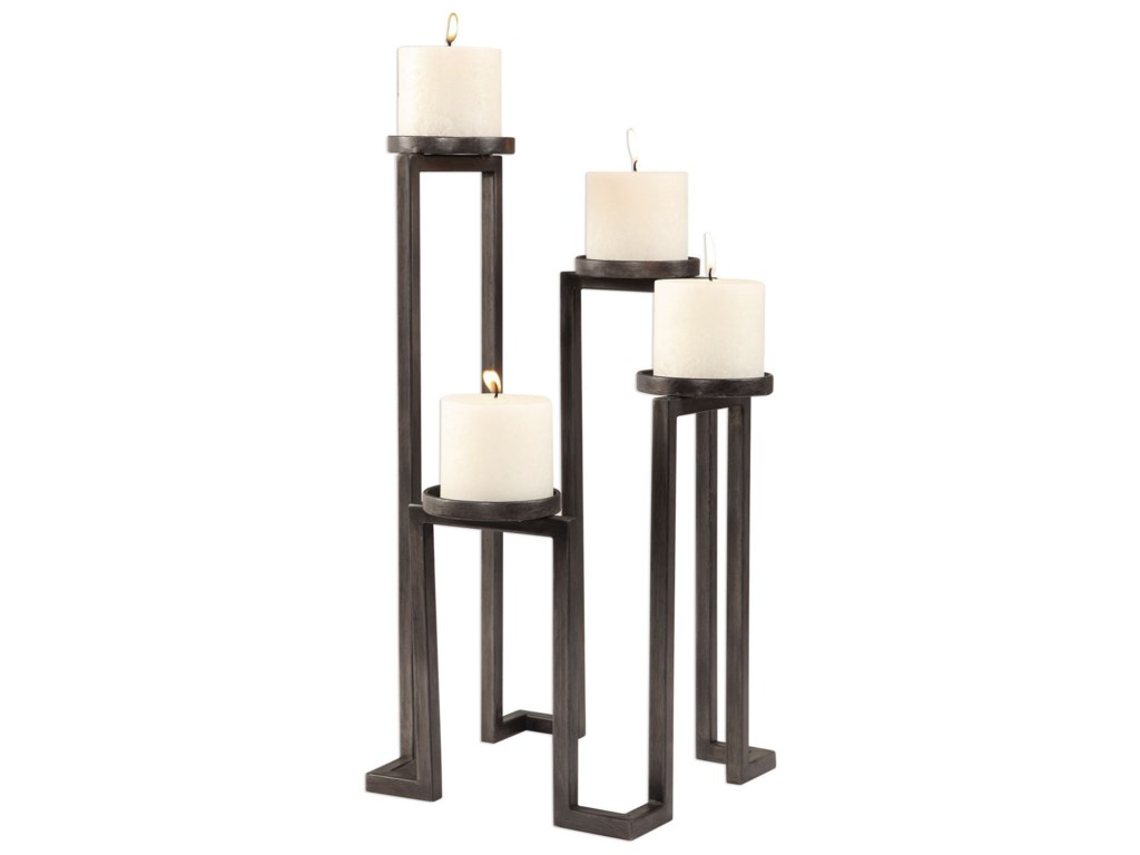 Uttermost Accessories - Candle HoldersNatalie Stepped Candleholder