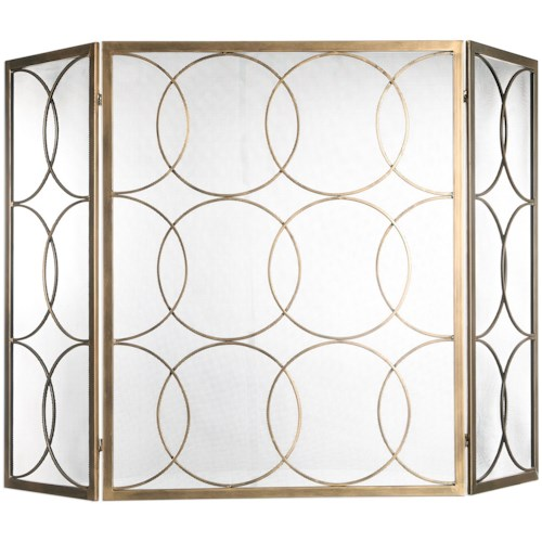 Uttermost Accessories Alayah Gold Fireplace Screen