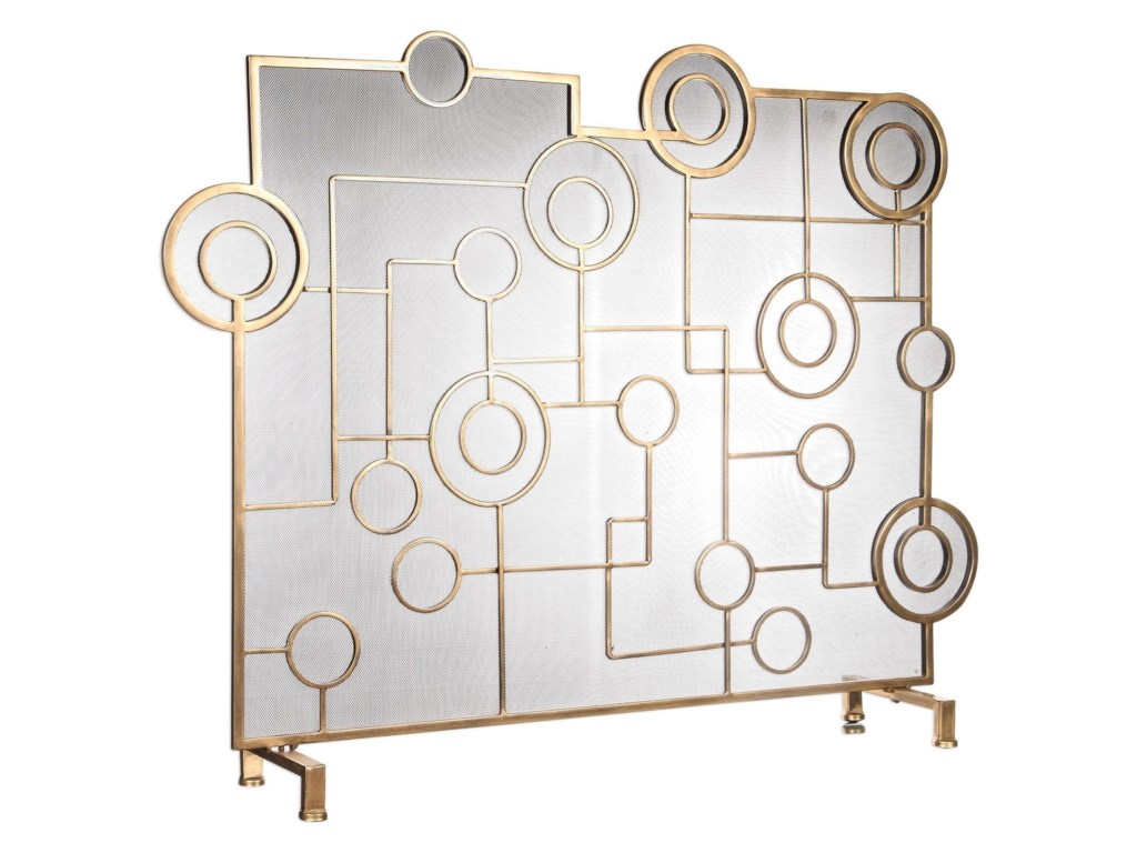 Uttermost AccessoriesFrankie Contemporary Fireplace Screen