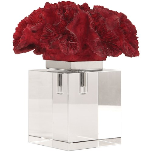 Uttermost Accessories Red Coral Cluster