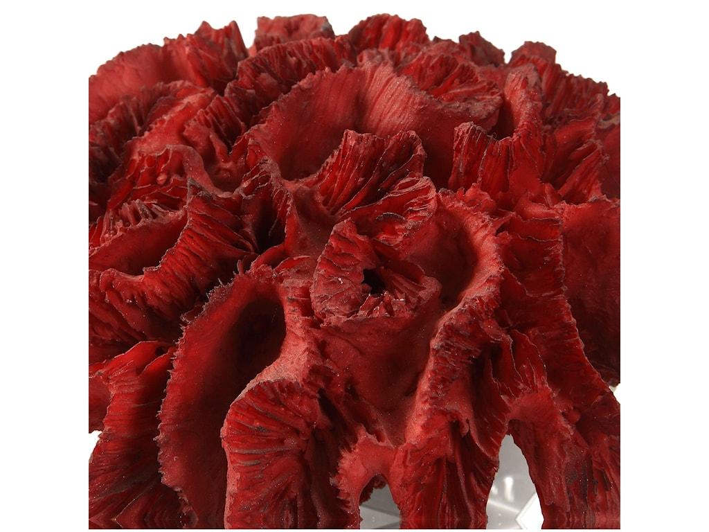 Uttermost BotanicalsRed Coral Cluster