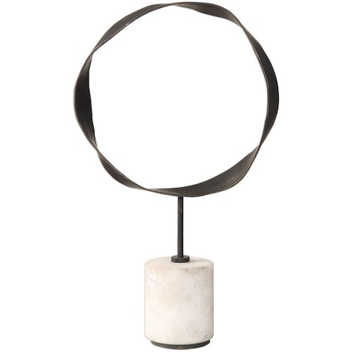 Uttermost Accessories Rilynn Metal Ring Sculpture