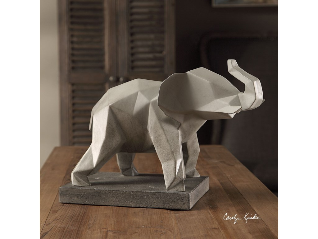 Uttermost Accessories - Statues and FigurinesDuke Elephant Sculpture