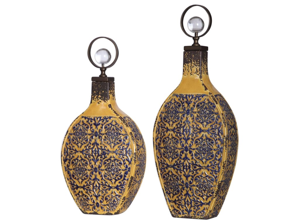 Uttermost AccessoriesKatelyn Ceramic Vessels, S/2