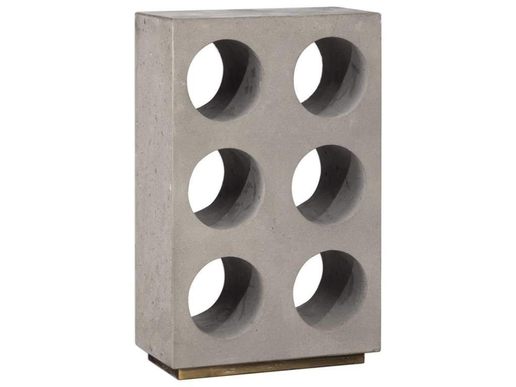 Uttermost AccessoriesKye Concrete Wine Holder
