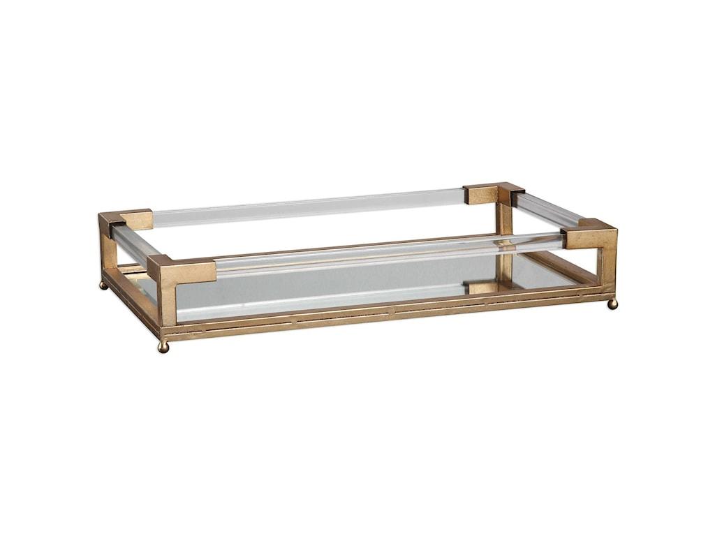 Uttermost AccessoriesBalkan Mirrored Tray