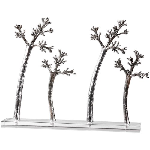 Uttermost Accessories Blowing Trees Sculpture